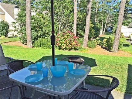 Brewster Cape Cod vacation rental - View of  private patio & courtyard from the living area