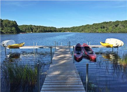 Brewster Cape Cod vacation rental - Ocean Edge kayak or paddle board rentals on Blueberry Pond