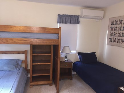 Brewster Cape Cod vacation rental - Second view of bunk room with additional twin bed