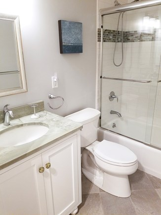 Brewster Cape Cod vacation rental - Brand new master bathroom with hand held shower