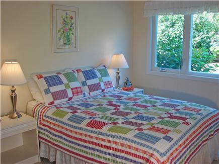 Brewster Cape Cod vacation rental - Master Bedroom with queen bed & TV on the first floor
