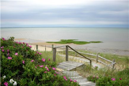 North Eastham Cape Cod vacation rental - Steps to your beach