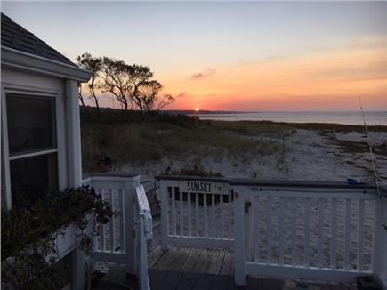 Barnstable, Cummaquid Cape Cod vacation rental - Sunset always comforting