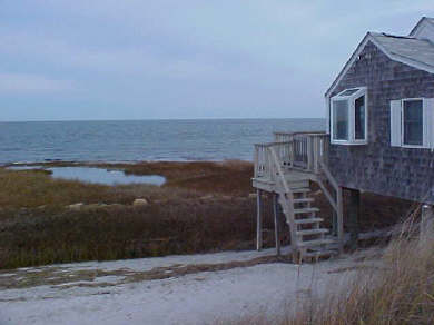 Barnstable, Cummaquid Cape Cod vacation rental - Side view from Cottage