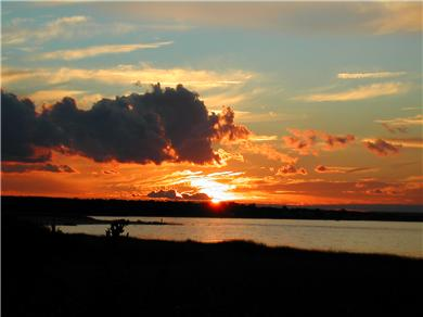 Barnstable, Cummaquid Cape Cod vacation rental - Beautiful sunsets from the beach