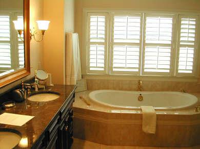 Barnstable, Cummaquid Cape Cod vacation rental - Large Master bath has air-tub, double walk-in shower