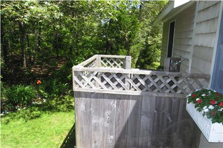 East Orleans Cape Cod vacation rental - Spacious Outdoor Shower  6' x 6'