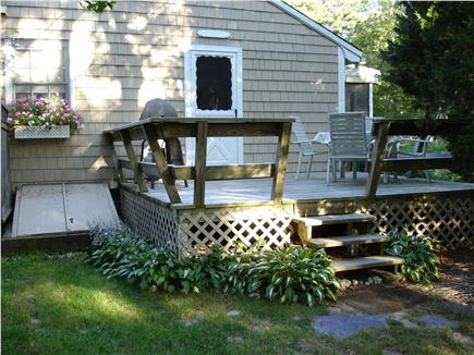 East Orleans Cape Cod vacation rental - Deck side entrance to cottage