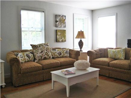 Falmouth Cape Cod vacation rental - Bright, Spacious Living Room in Open Floor Plan