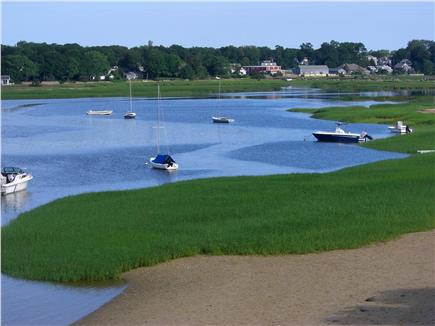 Wellfleet Harbor Cape Cod vacation rental - The View Towards Duck Creek Changes With The Tide