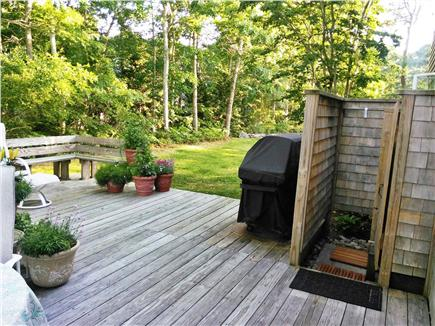Dennis North Side Cape Cod vacation rental - Deck