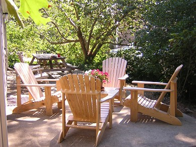 Wellfleet Cape Cod vacation rental - Patio in the front