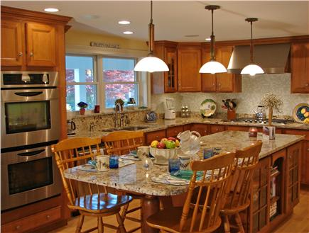 New Seabury/Popponesset New Seabury vacation rental - Enjoy cooking & casual dinning in gourmet kitchen