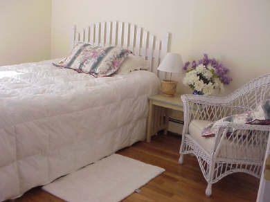 Hyannis Cape Cod vacation rental - 2nd bedroom with queen bed & shared bath