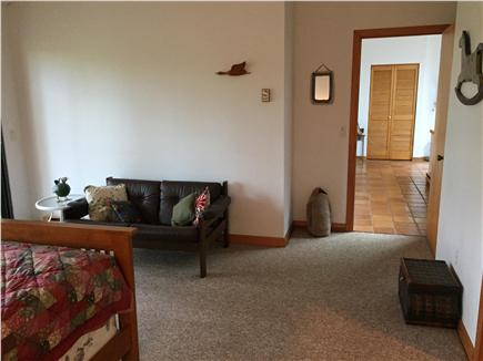 Truro Cape Cod vacation rental - Master bedroom with private bath on main floor