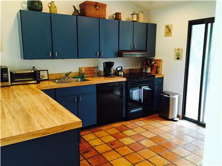Truro Cape Cod vacation rental - Fully-equipped kitchen with breakfast bar