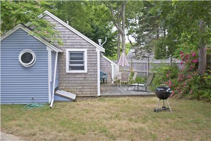 South Yarmouth Cape Cod vacation rental - Backyard