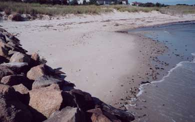 Great Island, West Yarmouth Cape Cod vacation rental - Private beach on Lewis Bay just four houses down
