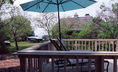 Great Island, West Yarmouth Cape Cod vacation rental - Water view from second deck