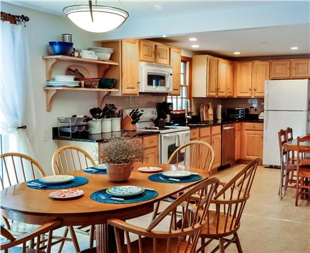 Great Island, West Yarmouth Cape Cod vacation rental - Dining Room/ Kitchen