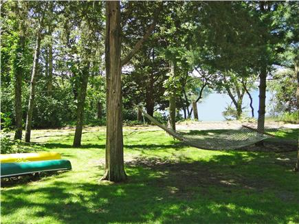 South Dennis Cape Cod vacation rental - Rest and relax, yard access to Follins Pond