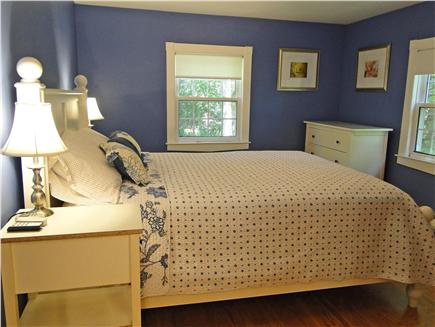 South Dennis Cape Cod vacation rental - Queen Master bedroom on first floor