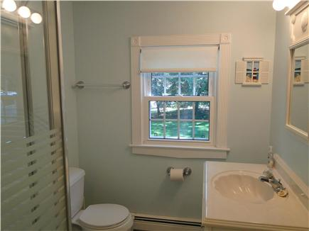 South Dennis Cape Cod vacation rental - Full downstairs bathroom with shower