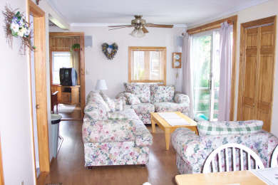 Centerville Centerville vacation rental - Slider to upper deck.  TV den in background