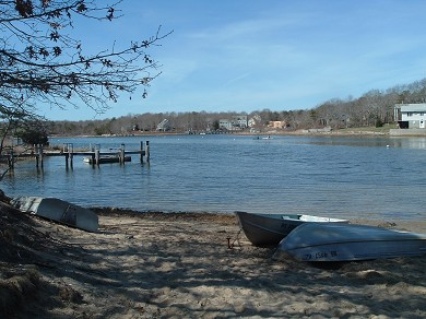 East Falmouth Cape Cod vacation rental - Water access at end of our street