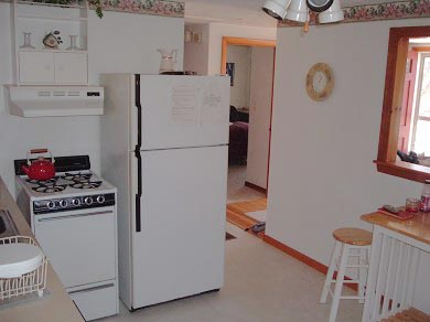 East Falmouth Cape Cod vacation rental - Eat in kitchen