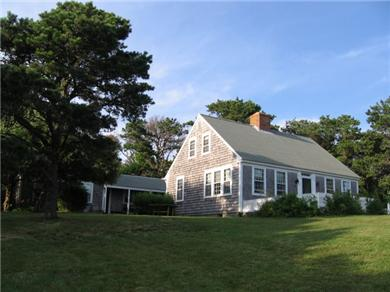 East Orleans Cape Cod vacation rental - Adorable Cape sits on a bluff offering spectacular views