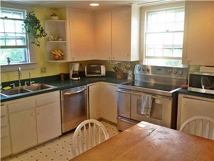East Orleans Cape Cod vacation rental - Kitchen (new dishwasher, stove and RO watermaker in 2013)