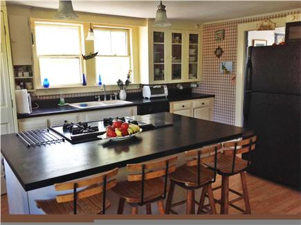 Truro Cape Cod vacation rental - Well stocked sunlit kitchen