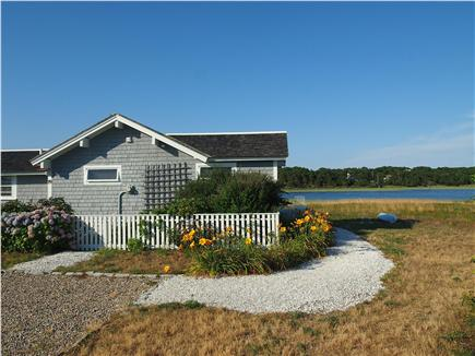 Wellfleet Harbor & Beach Cape Cod vacation rental - Our quaint comfortable cottage is right on the water
