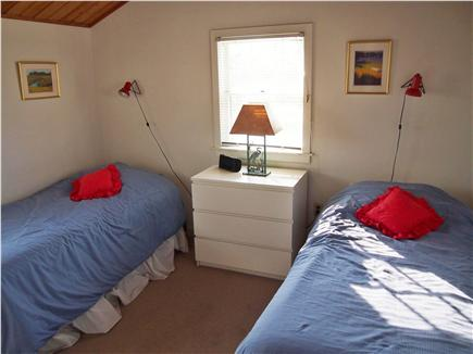 Wellfleet Harbor & Beach Cape Cod vacation rental - Second bedroom with twin beds. Push together & make a King.