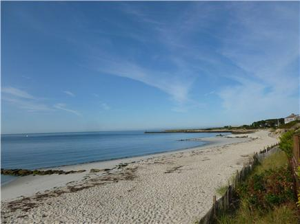 Harwich Port Cape Cod vacation rental - Another view of private beach towards Allen's Harbor!
