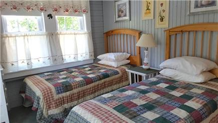 Harwich Port Cape Cod vacation rental - Large corner twin bedroom with room for a crib or cot!