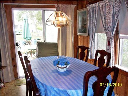 Harwich Port Cape Cod vacation rental - Roomy country dining room comfortably seats 8-10!