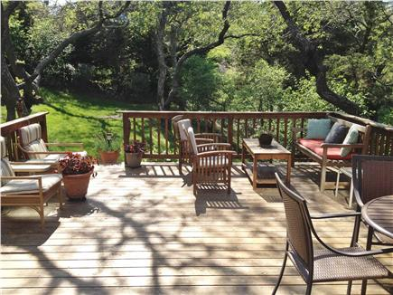 East Orleans Cape Cod vacation rental - Huge deck-seats 10 comfortably. Relaxing days and evenings.