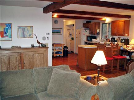 East Orleans Cape Cod vacation rental - From living room to user friendly Kitchen with all amenities