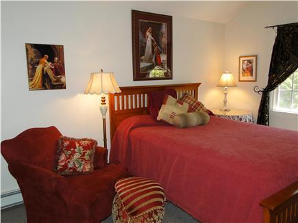 Dennis Cape Cod vacation rental - Queen master bedroom with TV