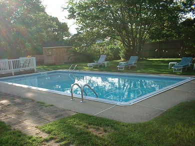 West Yarmouth Cape Cod vacation rental - The pool