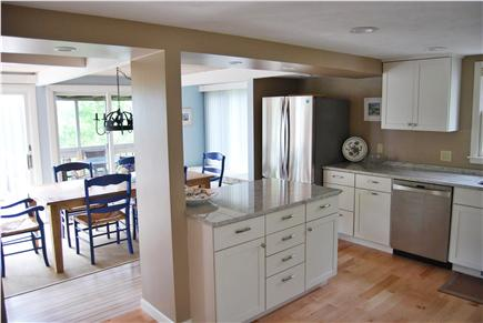 Summersea area of New Seabury New Seabury vacation rental - Dining Area Beyond Kitchen Area