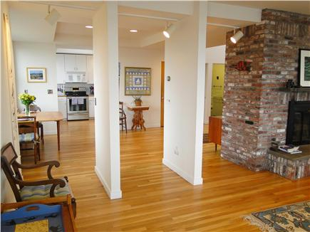 Wellfleet Harbor, on the Bluff Cape Cod vacation rental - Open living space, contemporary décor