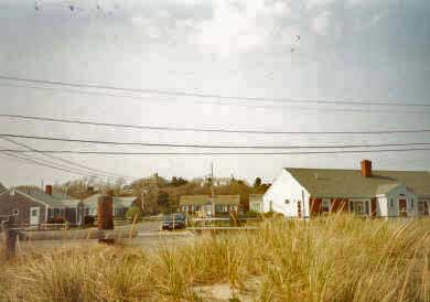 Centerville Centerville vacation rental - View of cottages from beach