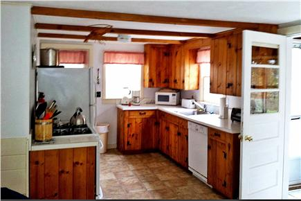 North Eastham Cape Cod vacation rental - Kitchen (gas convection oven and Bosch dishwasher)