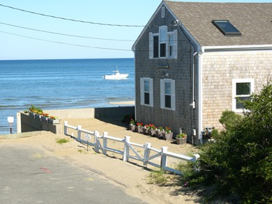 Eastham Cape Cod vacation rental - Upon your arrival, you are on the beach.