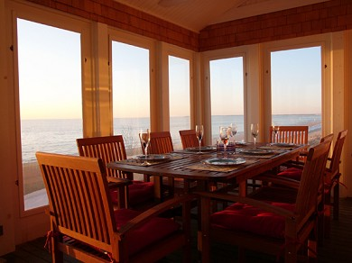 Eastham Cape Cod vacation rental - Seaside dining, your reservation is waiting.