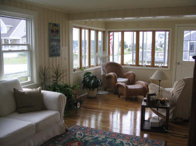 Scituate, Humarock MA vacation rental - Living Room with River View