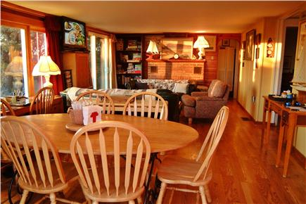 North Eastham Cape Cod vacation rental - View of dining area